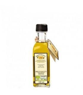Olio extra vergine di oliva e tartufo bianco essiccato a fette