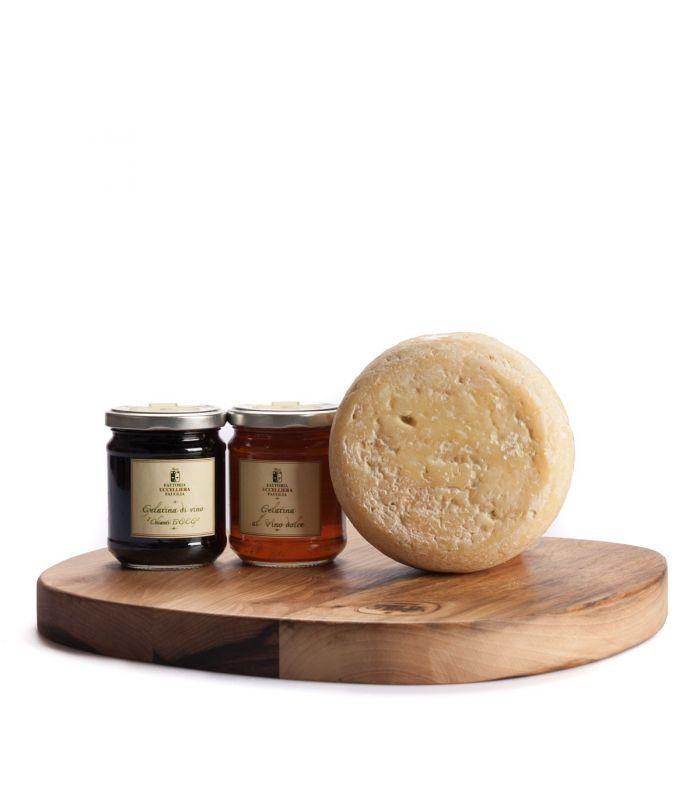 formaggio di bottegheria con tagliere