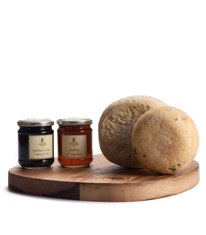 formaggio di bottegheria con tagliere 2