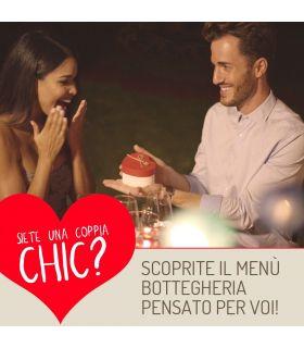 Menù Coppia Chic san valentino
