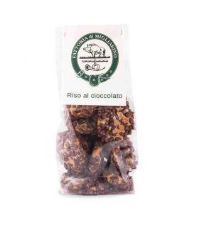 Biscotti artigianali riso al cioccolato