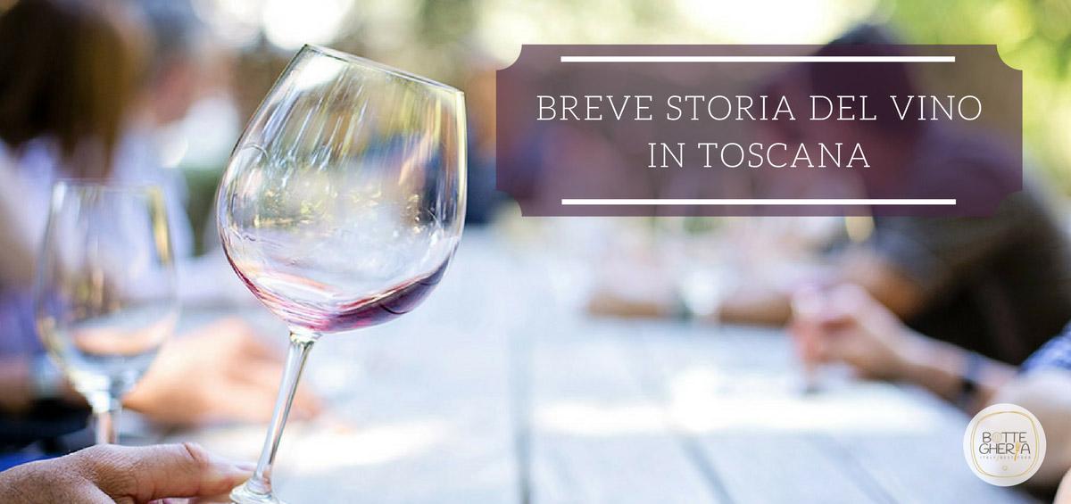 storia del vino in toscana