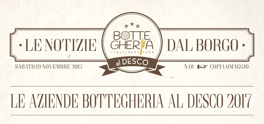 bottegheria a il desco 2017
